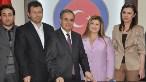 Ön protokol, Vali Tapsız (ortada) ile ICA Yönetim Kurulu Başkanı Ün (sağdan ikinci) tarafından imzalandı (Foto: Kemal Karagöz / AA)