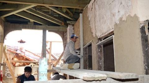 Muğla'nın İlk Kiremit Çatılı ve Çift Cumbalı Evi Restore Ediliyor