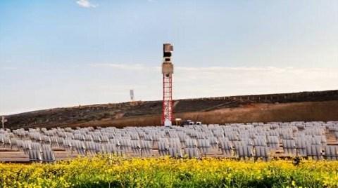 İlk Yerli Güneş Kulesi Mersin'de