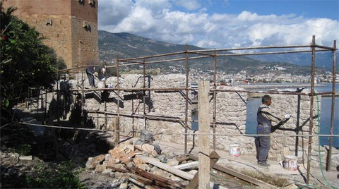 Tarihi Kaleye 10 Yıllık Restorasyon