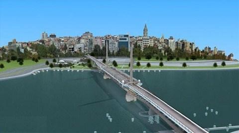 Haliç Metro Geçiş Köprüsü'ne 'Tarihi' Ayar