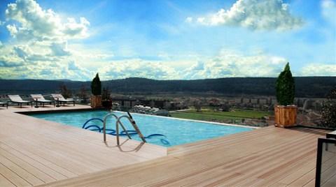 Çatıda Yüzme Havuzu Modası!