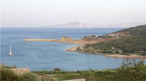 Datça'da Marina için Deniz Dolduruluyor