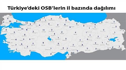 OSB'si Olmayan Tek Bir İl Kaldı