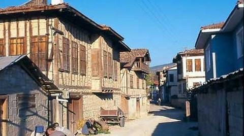 Yörük Köyündeki 40 Tarihi Ev Restore Edilecek
