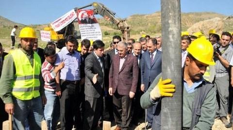 Şırnak-Van Karayolunun Temeli Atıldı