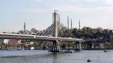 Haliç Metro Geçiş Köprüsü; Bitti Bitecek…