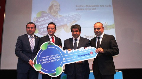 Esenler Belediyesi ile DenizBank'tan 'Kentsel Dönüşüm' İş Birliği