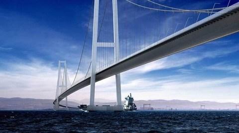 Asma Köprüyle İstanbul - İzmir Arası 3.5 Saat