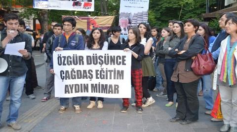 """Mimarlık Fakültesi Öğrencilerinden """"Maket"""" Protestosu!"""