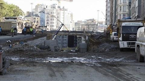 Taksim'in Üstü Altında