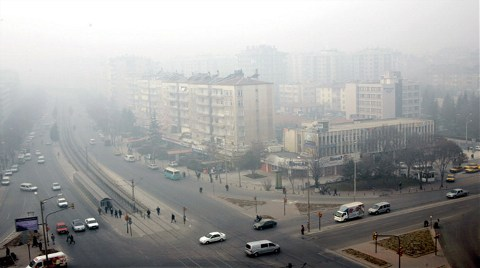Hava Kirliliği Haritası Çıkacak