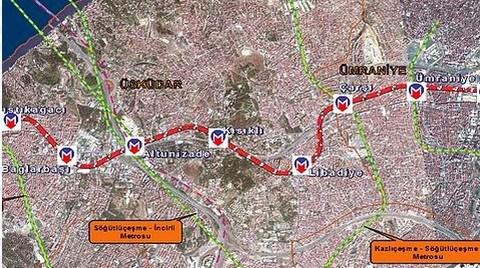 Alemdağ Caddesi Metro İçin Kapanıyor