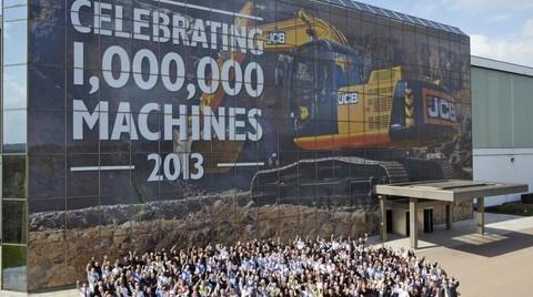 Bir Milyonuncu İş Makinasını Üreten JCB'den Özel Kutlama