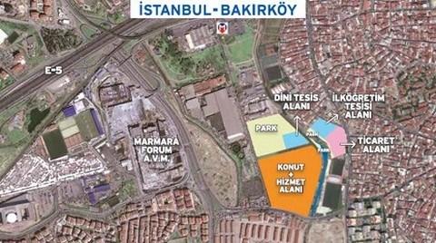 Emlak Konut'un Bakırköy Arsası Satışta!