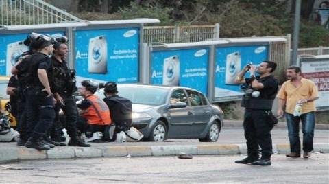 """Polisten Müdahale Sonrası """"Gezi Hatırası"""" Fotoğrafı"""