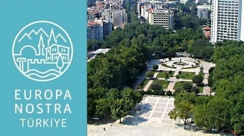 Europa Nostra Türkiye'den Gezi Açıklaması