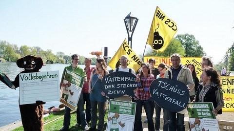 Berlinliler Elektrik Dağıtımının Kamulaştırılmasını İstiyor