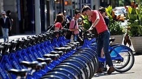 New York'ta Bisikletli Yaşam Başladı