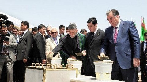 Türkmenistan-Afganistan-Tacikistan Demiryolu İnşası Başladı