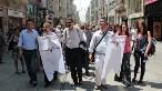 Tarih Vakfı'ndaki toplantıdan sonra Gezi Parkı'na yüründü