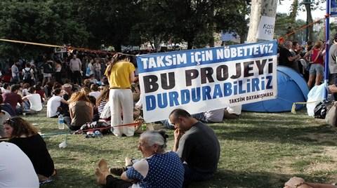 Taksim Projesinde Halk Yürütmeyi Durdurdu