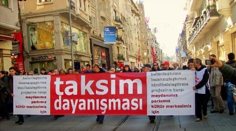Taksim Dayanışması Meclis'te