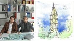 Türk Mimarların Eskizlerine Amerika'dan Ödül