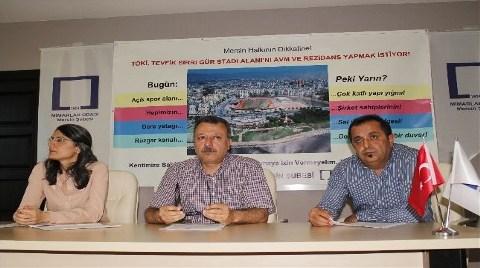 """Mimarlardan """"Stadın Yerine AVM""""ye Tepki!"""