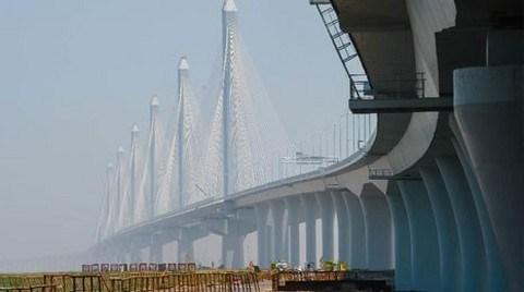 Çin'de Dünyanın En Uzun Asma Köprüsü Açıldı!