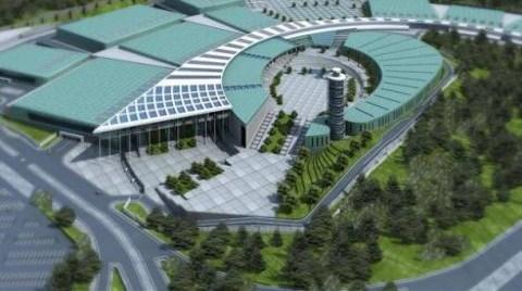"""Yeni Fuar Merkezi İnşaatına """"Başkan Markajı"""""""
