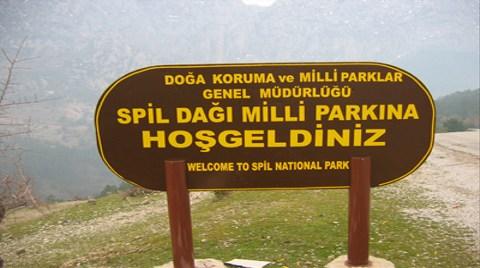 Spil Milli Parkı Halka Açılıyor