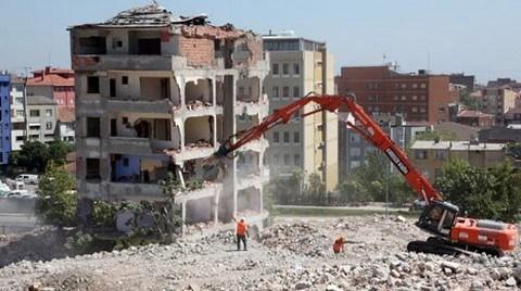 Esenler'de Son Bina da Yıkıldı!