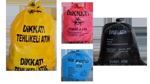Artık Çöpler Sarı-Mavi Poşetlenecek