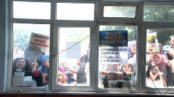Bu Kez Protesto İçin Komşu Köye Gittiler