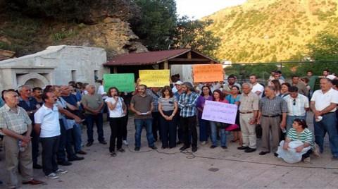 Tunceli'de Gole Çetu Protestosu