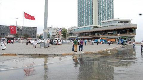 Taksim Metrosu'nu Su Bastı!