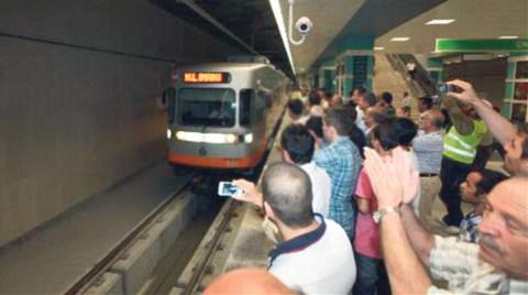 Otogar-Olimpiyatköy Metro Hattı Açıldı