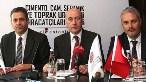 Basın toplantısında, Ali Özinönü'nün yanısıra Başkanvekilleri Bahadır Kayan ve Cemil  Tokel  ile yönetim kurulu üyeleri de hazır bulundu