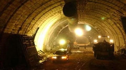 Türkiye'nin En Uzun Tünelinde İlk Etap Tamam