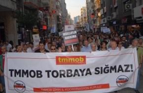 İzmir'de TMMOB'den Tasarıya Tepki!
