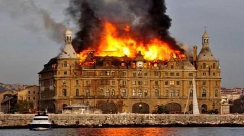 Haydarpaşa'da Yangının Sebebi İzolasyon Malzemesi