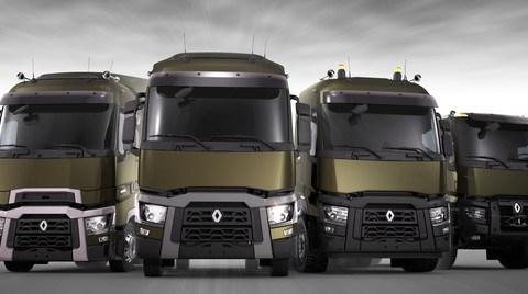 Renault Trucks'ın Yeni Euro 6 Serisi Yollarda