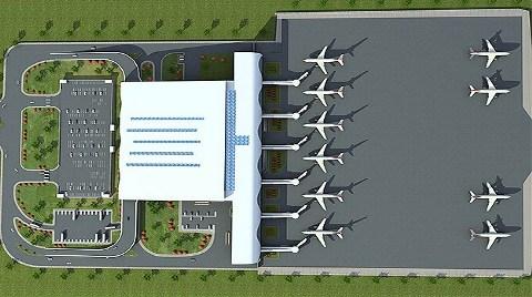Diyarbakır Havalimanı'na Yeni Bina!