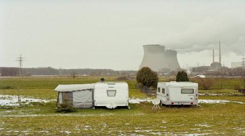 Almanya'nın Kapanan Nükleer Santrallerine Yakın Çekim