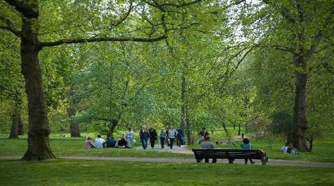Green Park-Londra