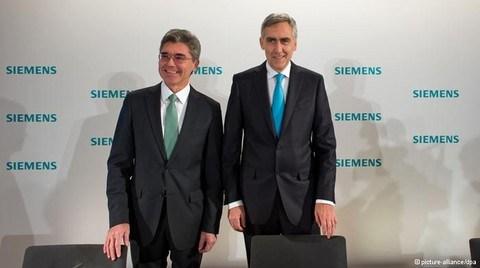 Siemens'te Kaeser Dönemi Başladı