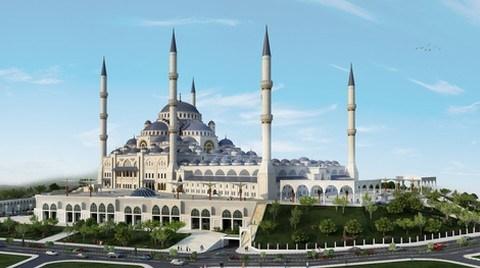 Çamlıca Camii'nin Temelleri Atıldı