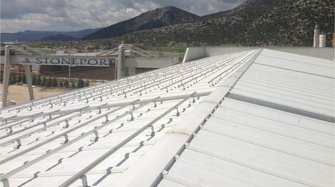 'Türkiye'nin En Büyük Çatı Üstü Güneş Santrali'nin Kurulumu Başladı