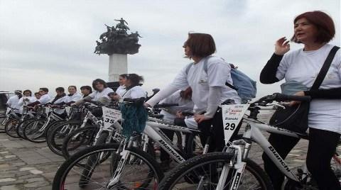 Bisikletli Ölümlere Karşı Pedal Çevirecekler